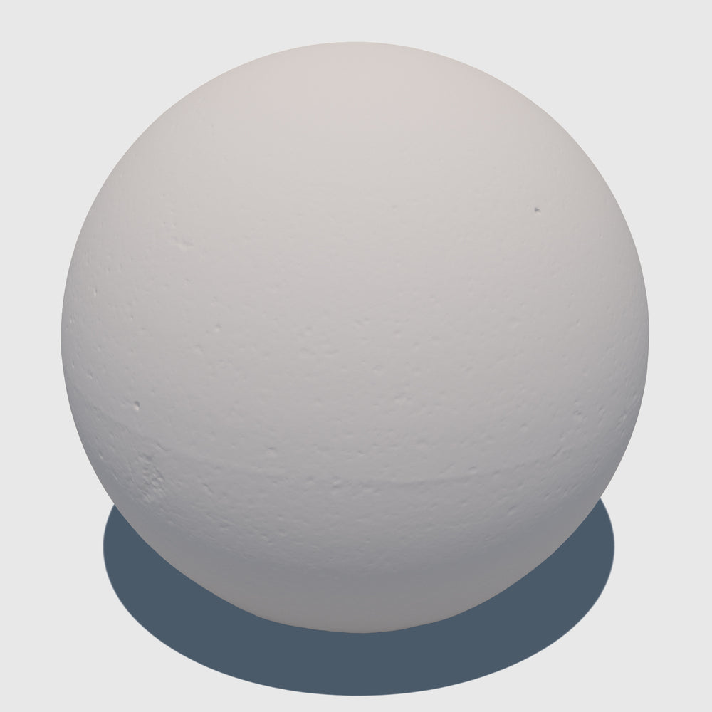 uv texture map of a large cg aggregate cement ball
