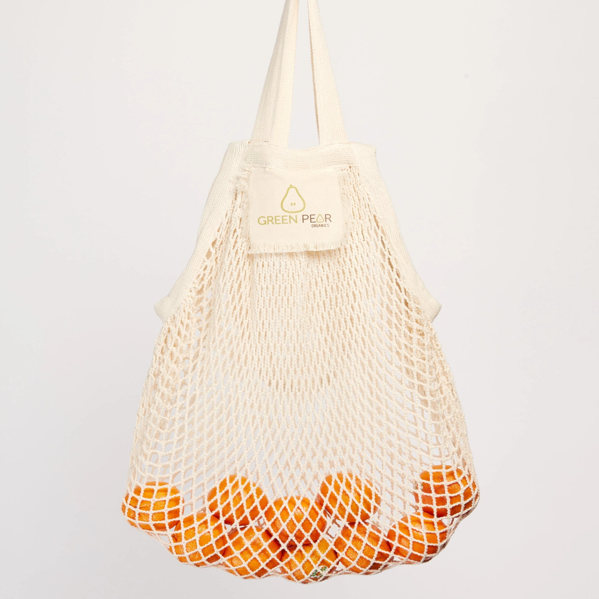 Market String Bag - XL Organic Cotton Mesh Tote