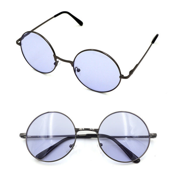 Vintage Multi-Color Round Sunglasses