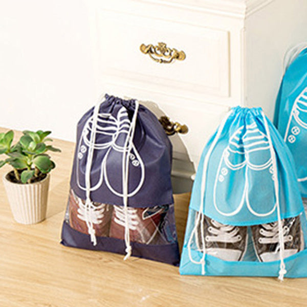 Travel-Size Laundry Shoe Bag