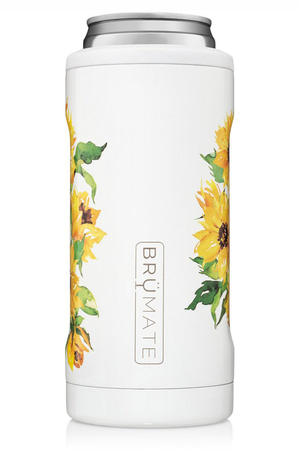 Hopsulator Skinny Can Cooler - Sunflower