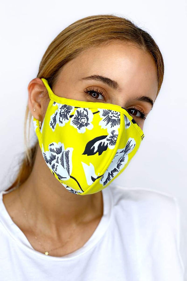 Reversible Face Mask - Bumble Bee