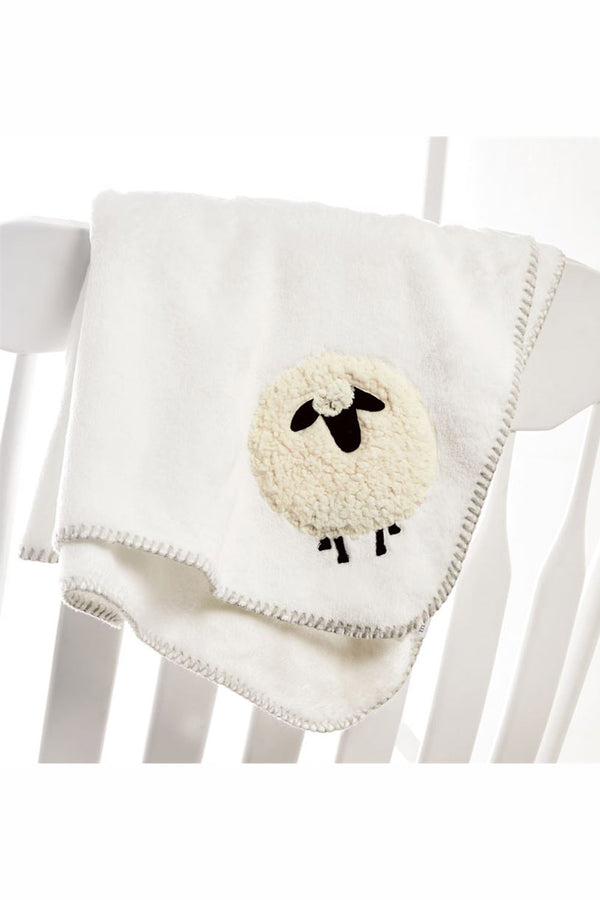 Baby Fleece Blanket - Sheep