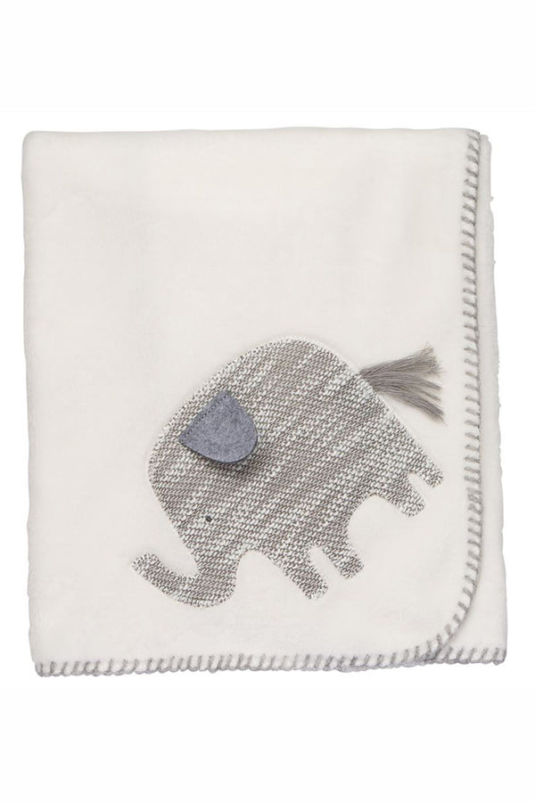Baby Fleece Blanket - Elephant