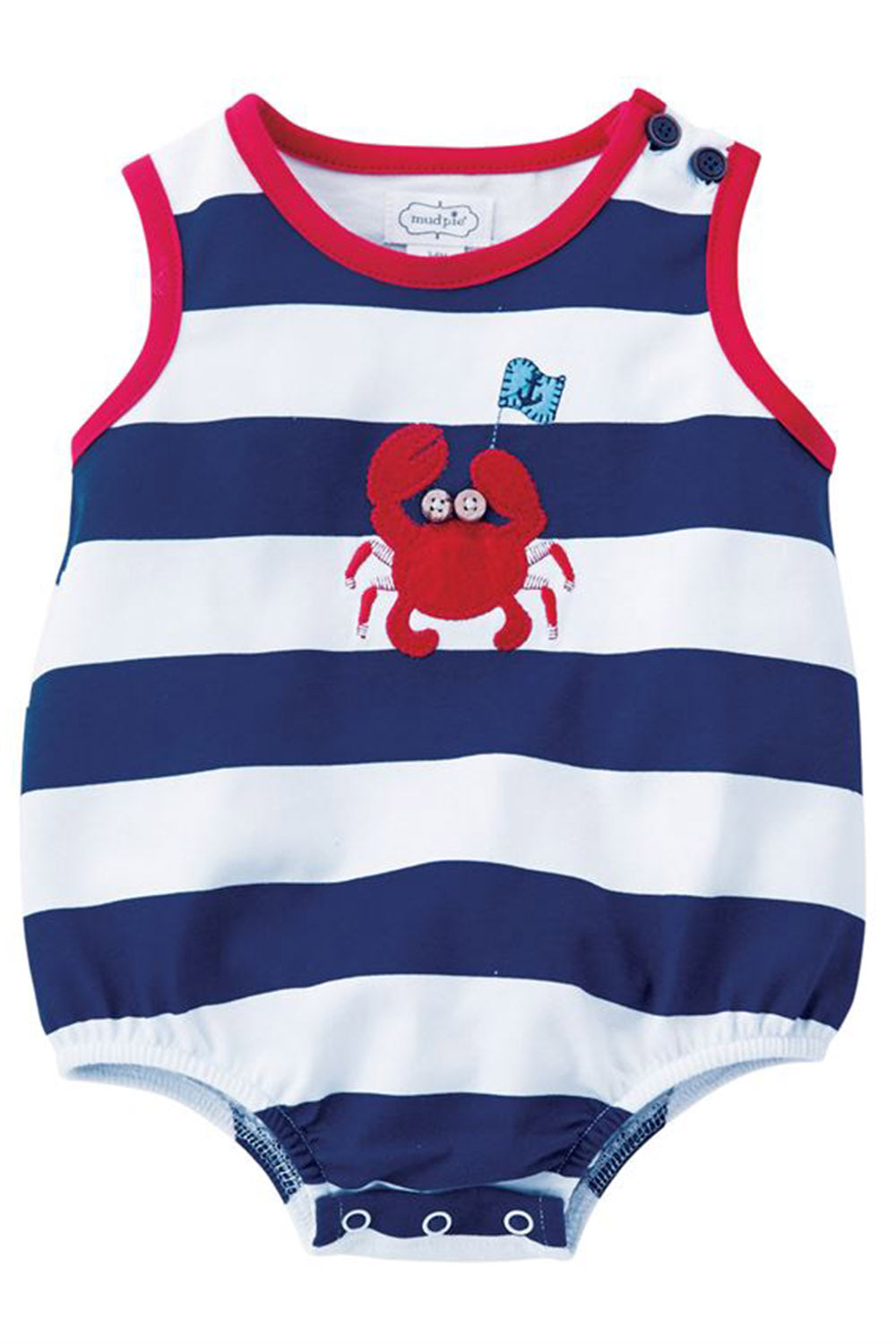 Jersey Crab Bubble Outfit