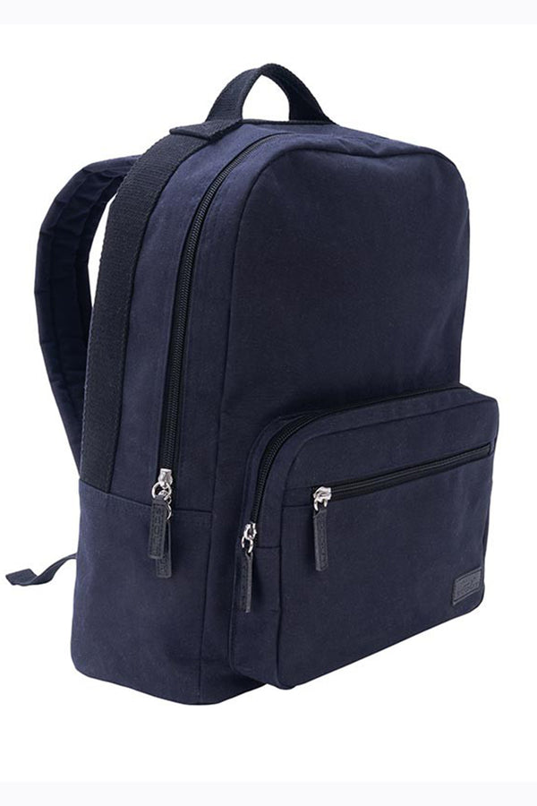 "The Gibson Backpack - ""Navy Canvas"" F18"