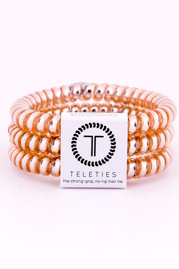 Teleties Hair Ties - Champagne Gold