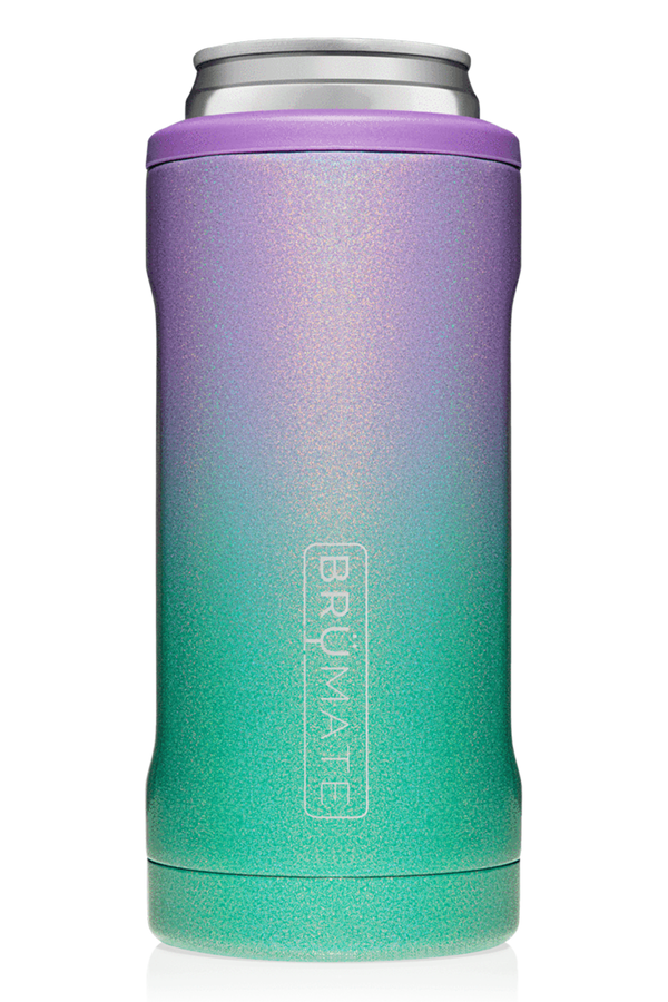 Hopsulator Skinny Can Cooler - Glitter Mermaid