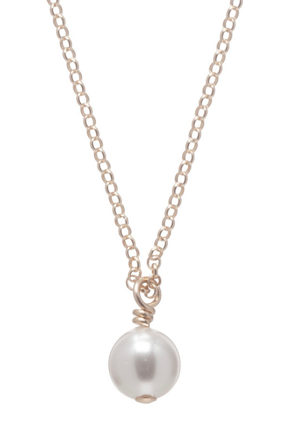 EN Clarity Necklace - Pearl
