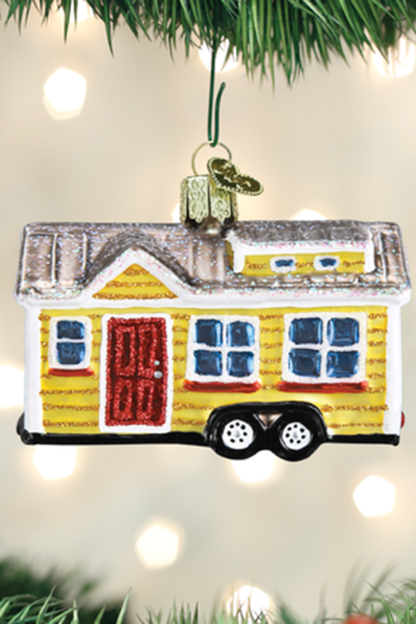 Glass Ornament - Tiny House