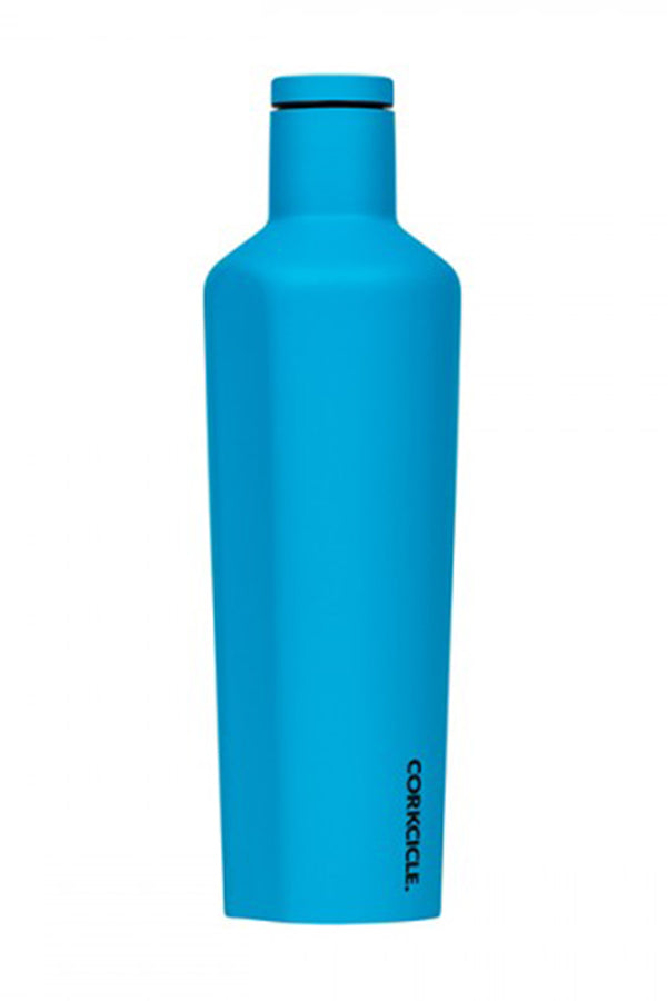 Modern Corkcicle Canteen - Neon Blue