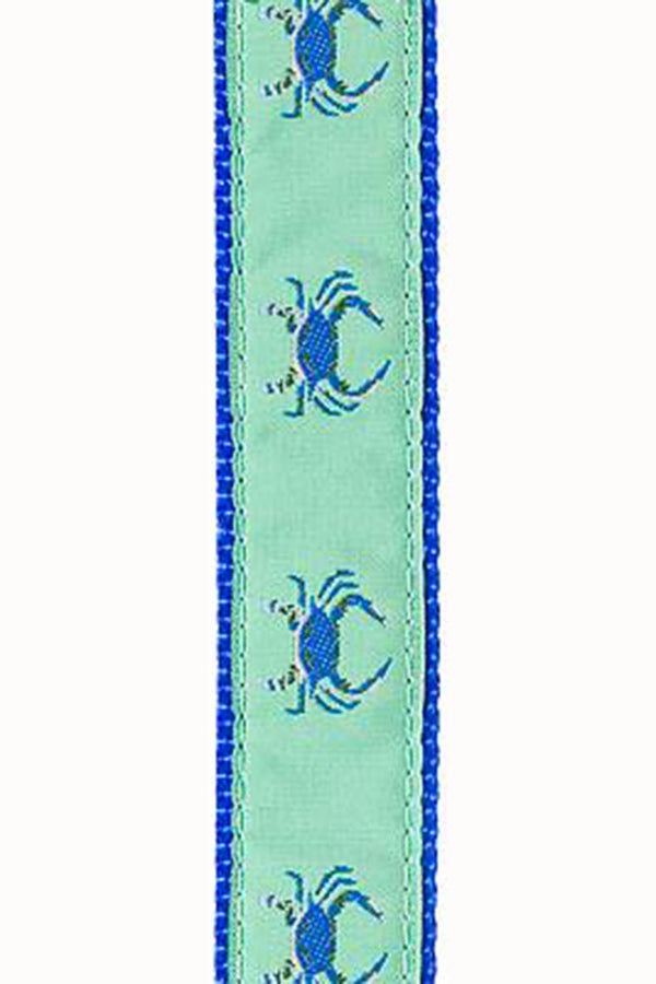 Dog Collar - Green Crab