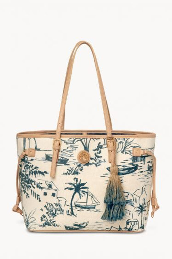 Jetsetter Tote - Daise Seascape