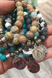 TJ Beaded Bracelet Exclusive - Chrysocolla Stone