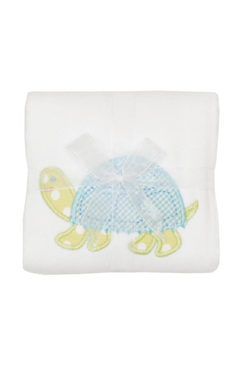 Applique Burp Pad - Turtle
