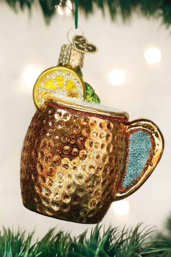 Glass Ornament - Moscow Mule