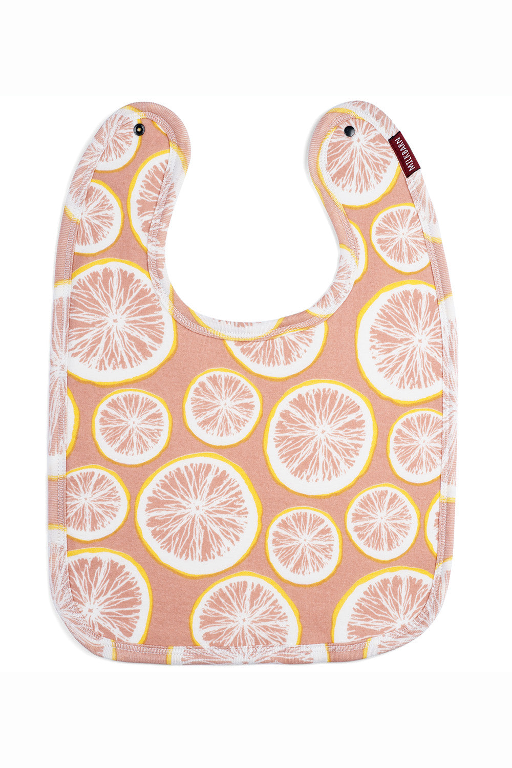 Traditional Bib - Grapefruit
