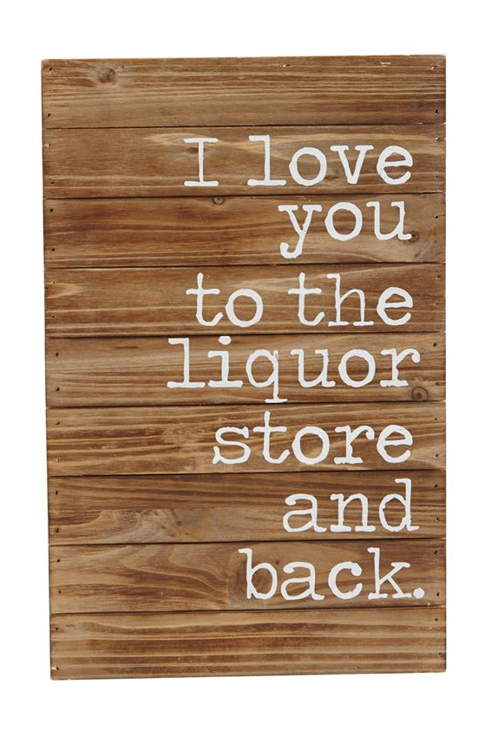 Liquor Store & Back Plaque