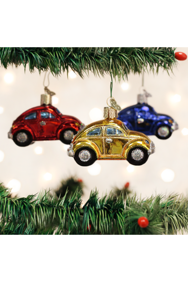 Glass Ornament - Buggy