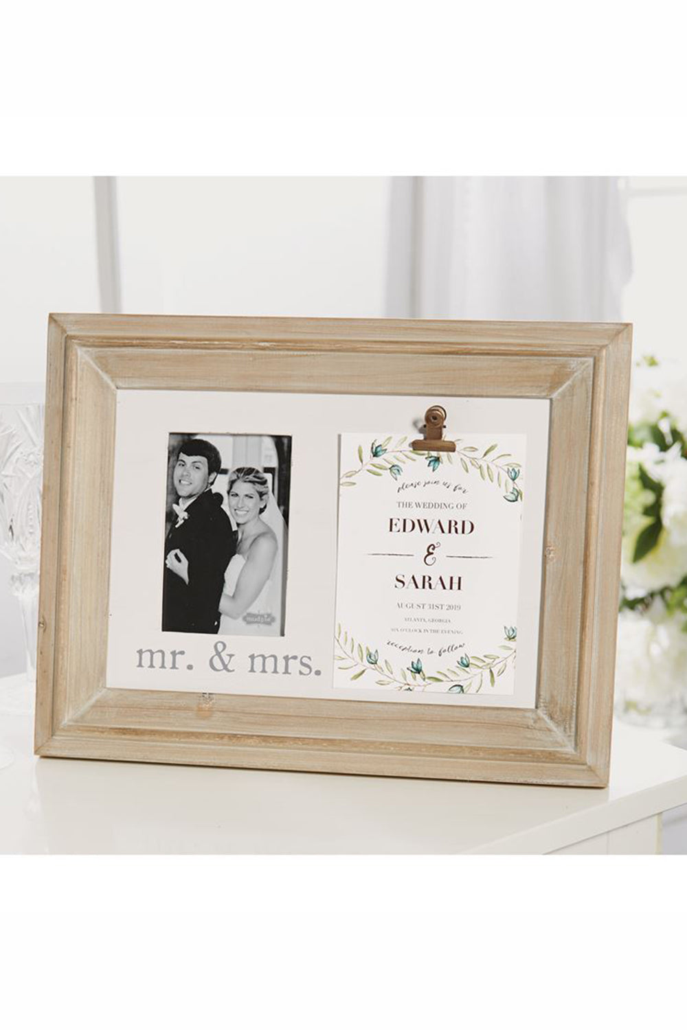 Mr. & Mrs. Invite Frame