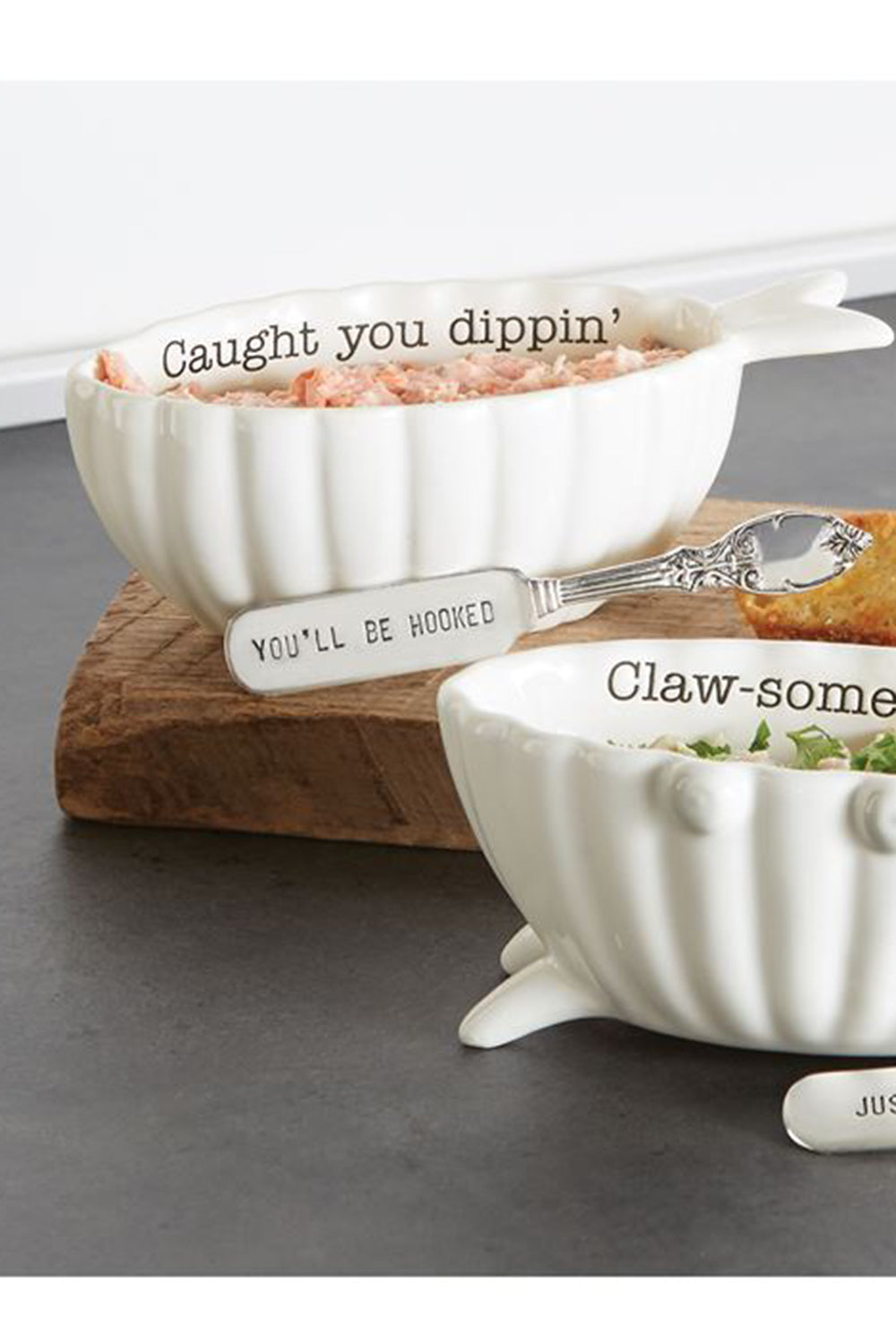 Seafood Dip Cup Set - Fish