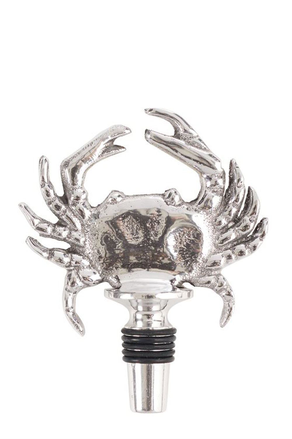 Silver Crab Bottle Topper