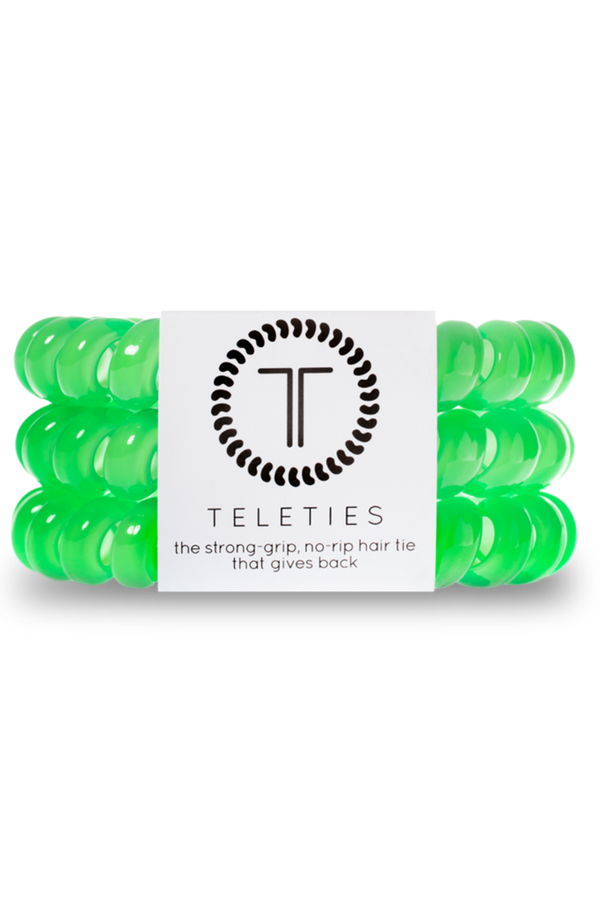 Teleties Hair Ties - Limelight