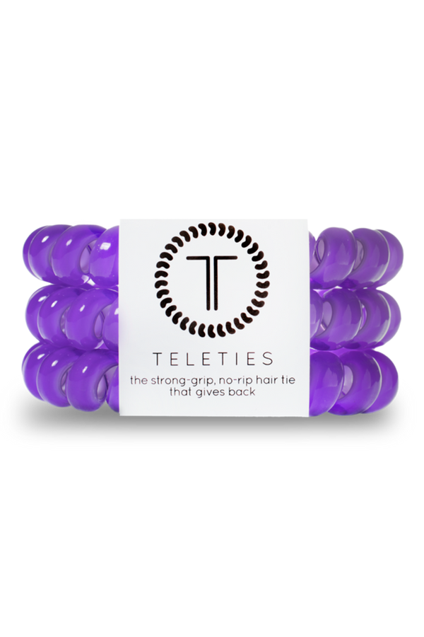 Teleties Hair Ties - Ultraviolet