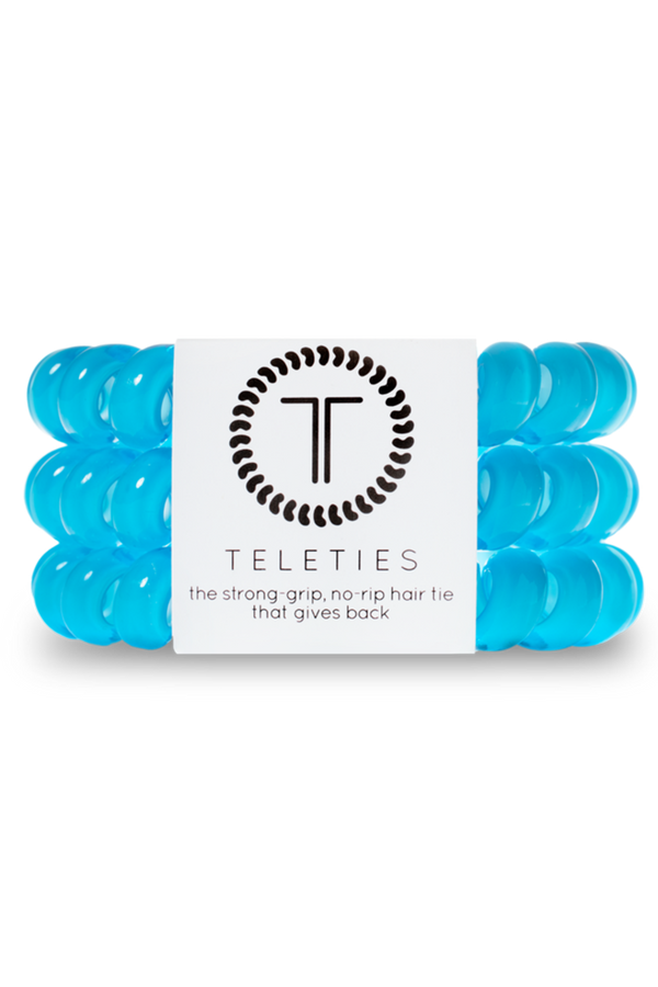 Teleties Hair Ties - Cool Blue