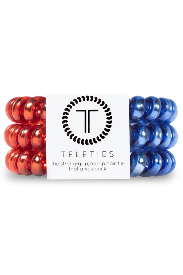 Teleties Hair Ties - Stars & Stripes