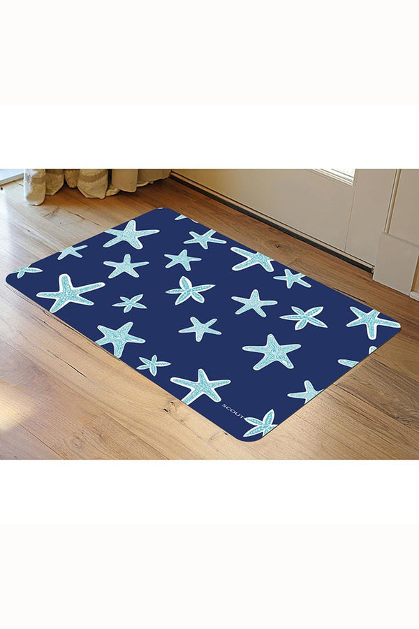 "SCOUT Floor Mat - ""Fish Upon a Star"""