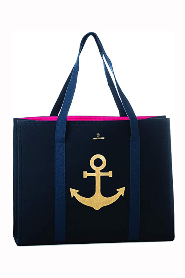 Carry All Tote - Navy Anchor