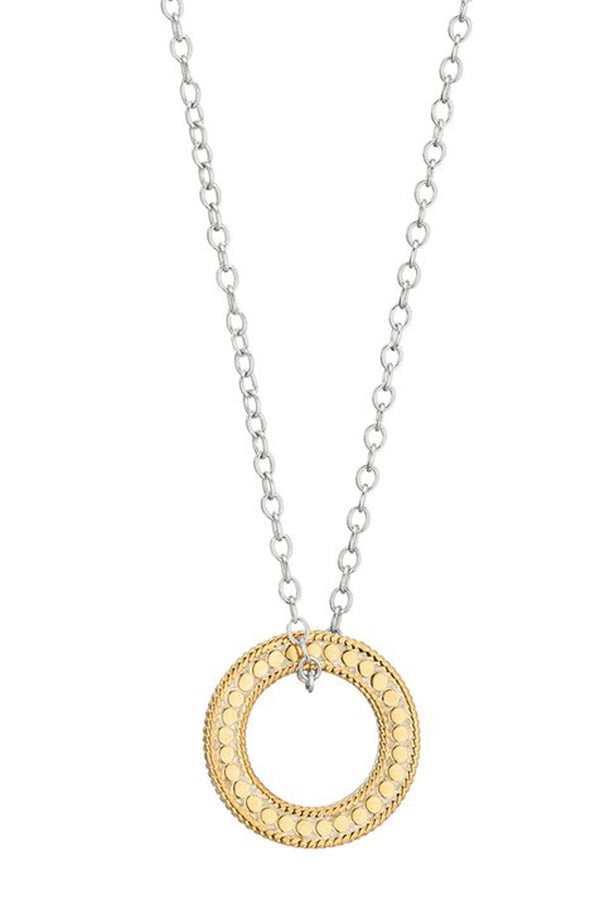 "AB Circle of Life Open ""O"" Necklace"