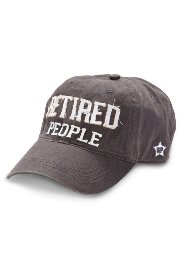 Adjustable Hat - Retired People