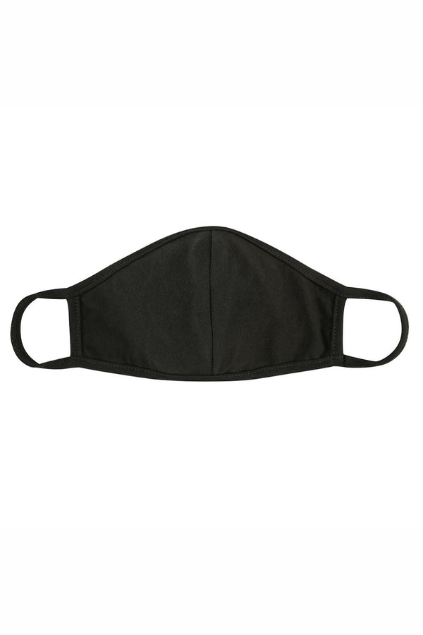 Cloth Face Mask with Seam - Army Green