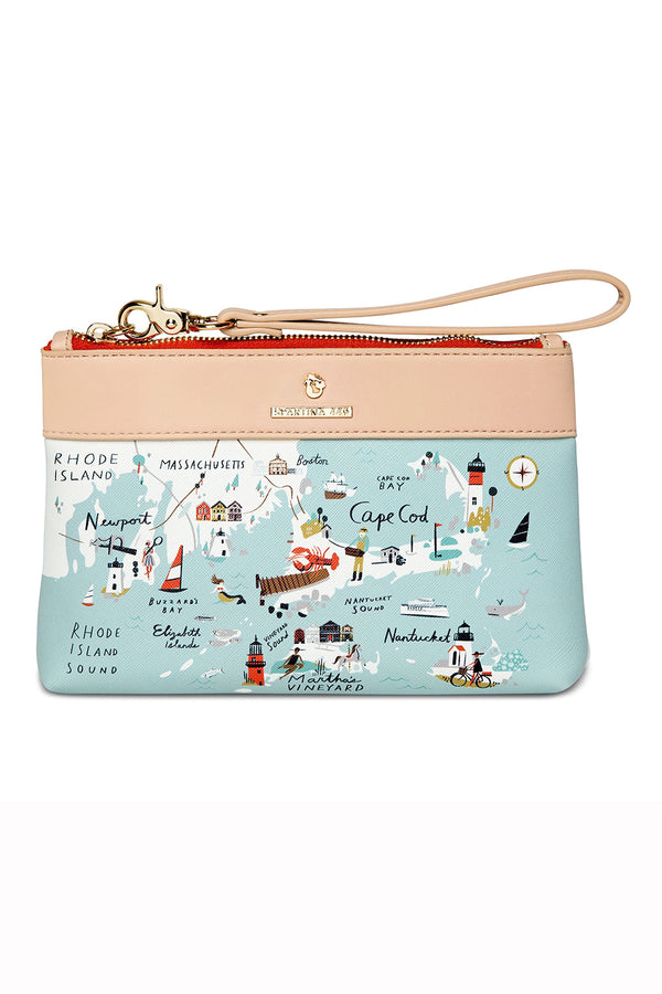 Destination Map Scouty Wristlet - Northeastern Harbors