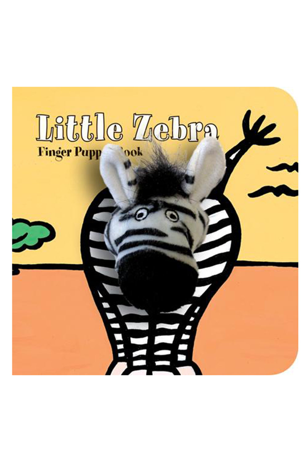 Finger Puppet Book - Little Zebra