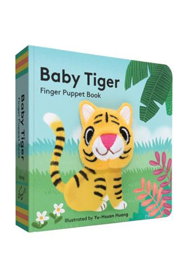 Finger Puppet Book - Baby Tiger