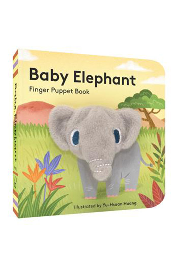 Finger Puppet Book - Baby Elephant