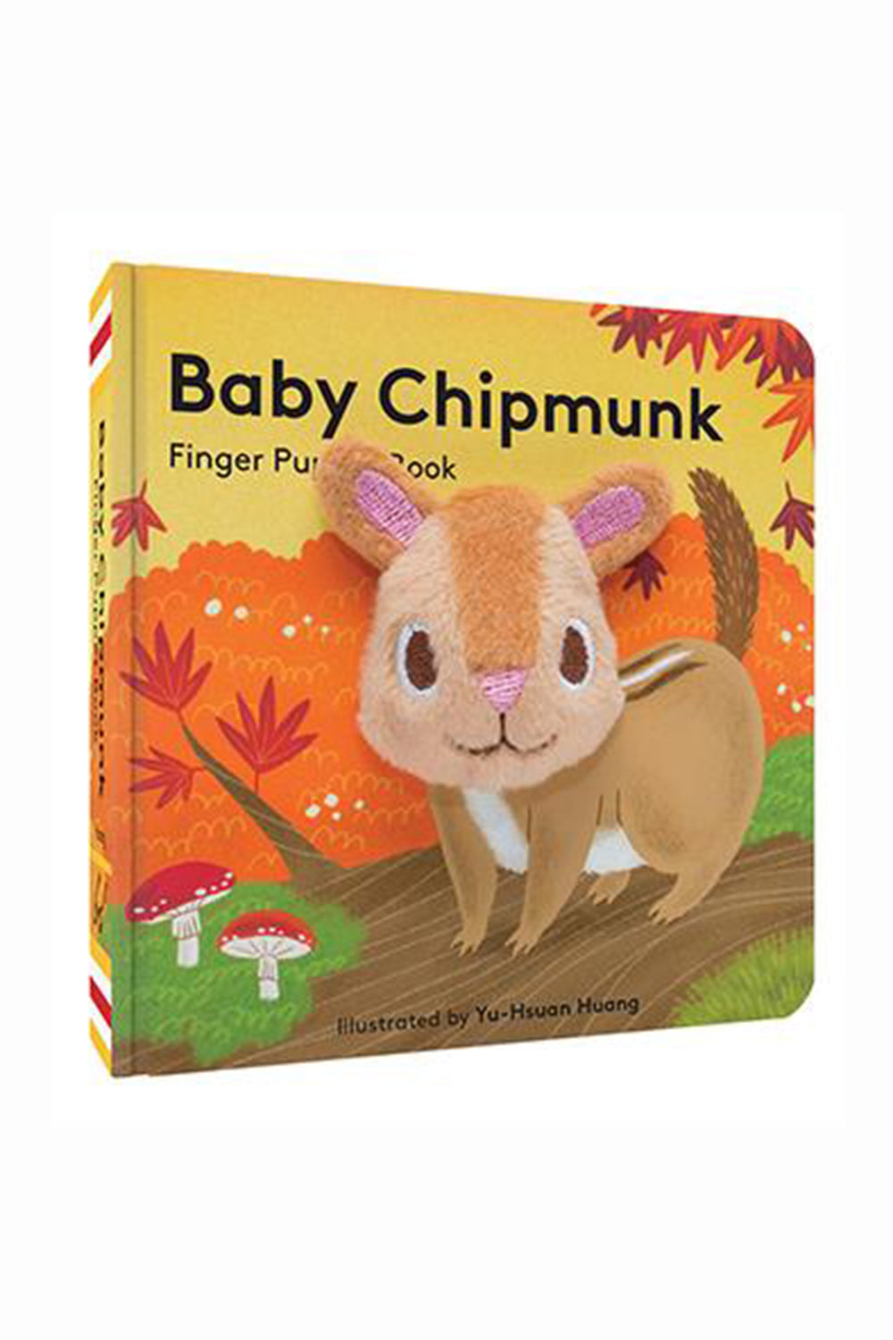 Finger Puppet Book - Baby Chipmunk
