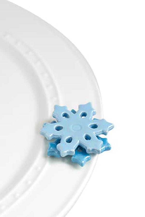 Nora Fleming Mini Attachment - Snowflake Double