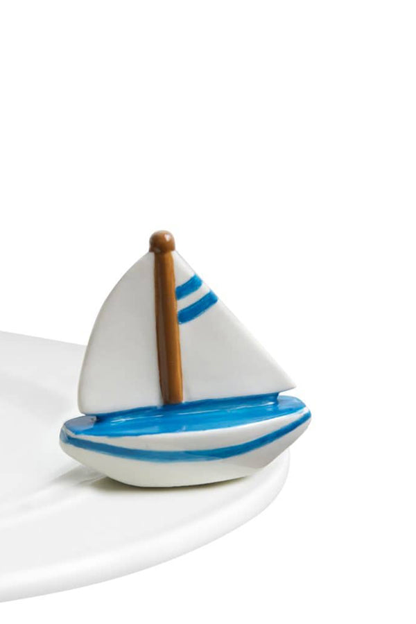 Nora Fleming Mini Attachment - Sailboat