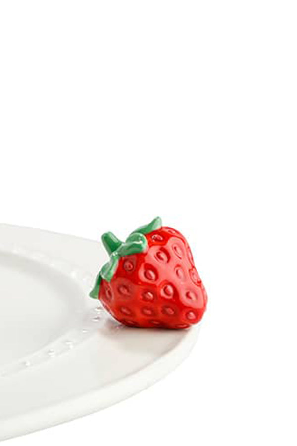 Nora Fleming Mini Attachment - Juicy Fruit Strawberry