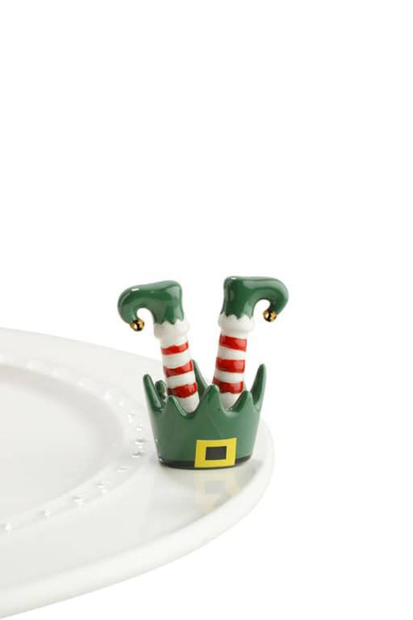 Nora Fleming Mini Attachment - Jingle Toes Elf