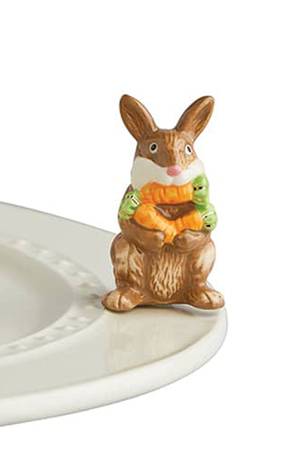 Nora Fleming Mini Attachment - Funny Bunny