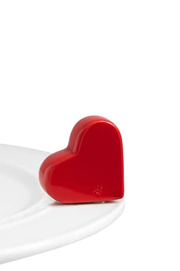 Nora Fleming Mini Attachment - Be Mine Heart