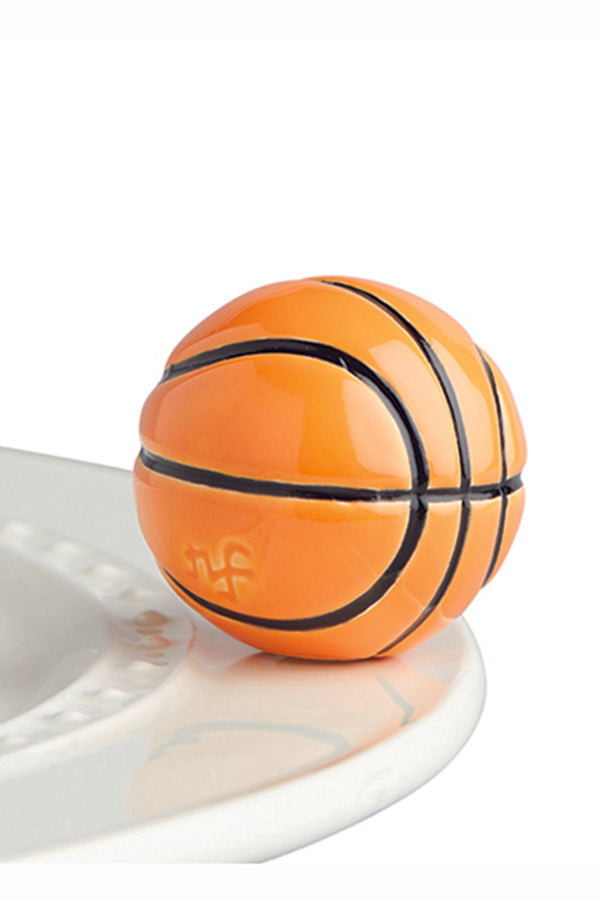 Nora Fleming Mini Attachment - Hoop There It Is Basketball