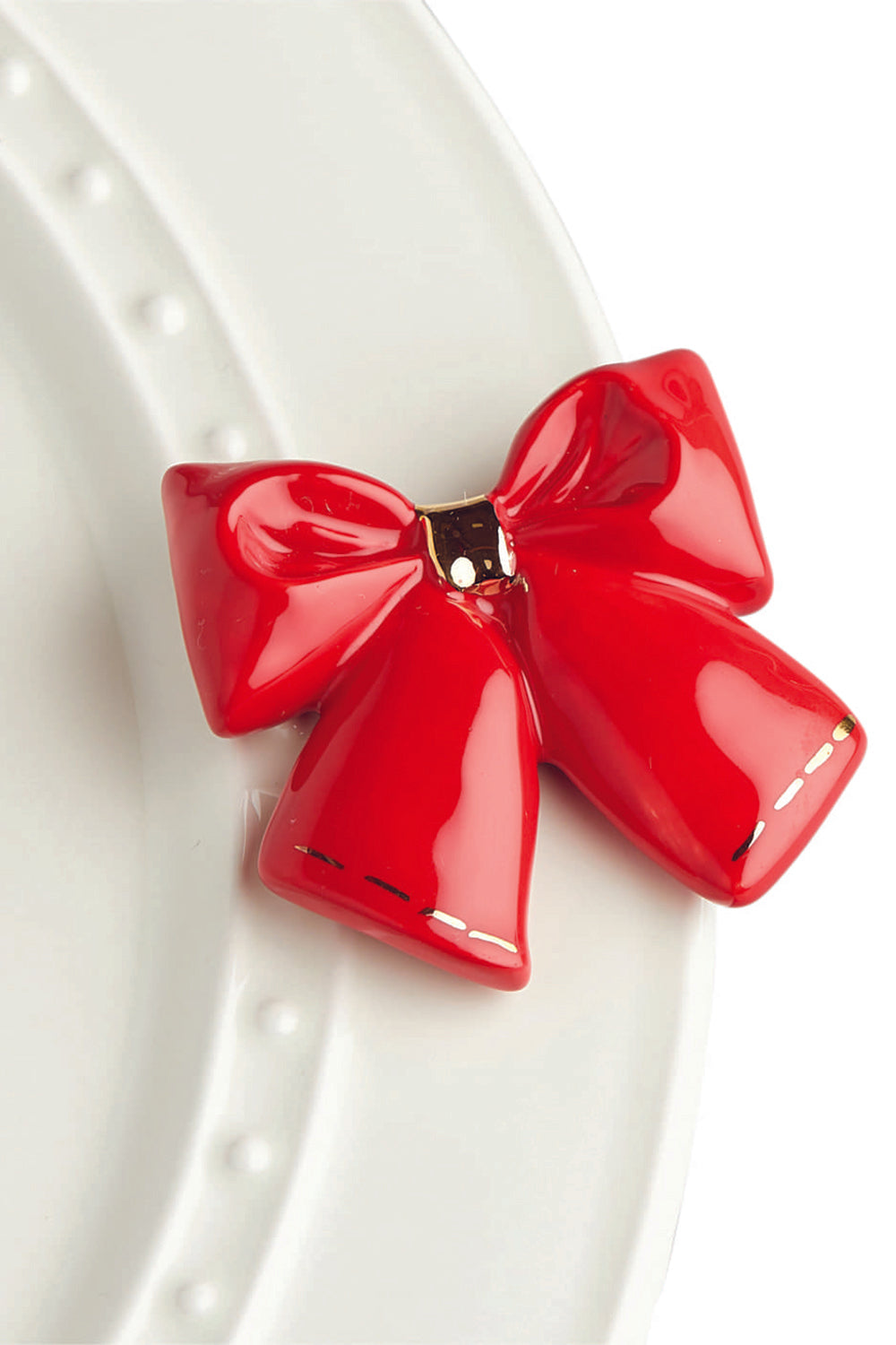 Nora Fleming Mini Attachment - Wrap it Bow