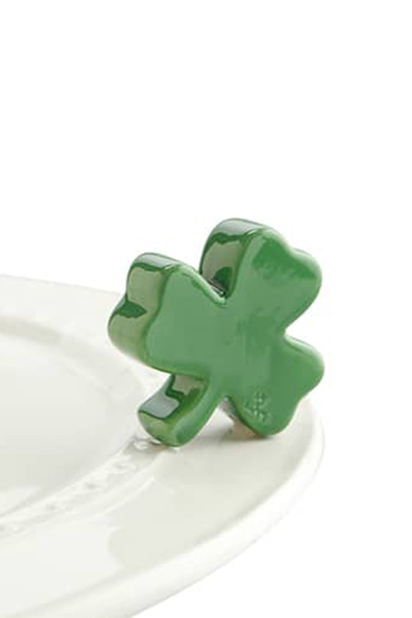 Nora Fleming Mini Attachment - Irish at Heart Shamrock