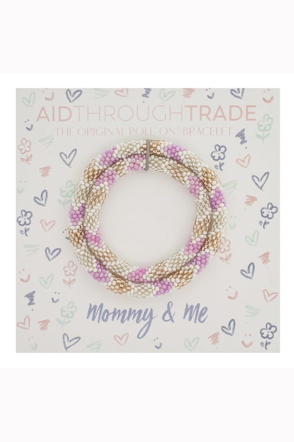 Mommy & Me Roll On Bracelet Set - Dollhouse